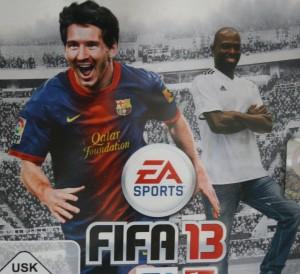 FIFA 2013 PS3 Hans Sarpei Speicail Edition