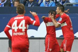 Vedad Ibisevic sichert Stuttgart den Sieg